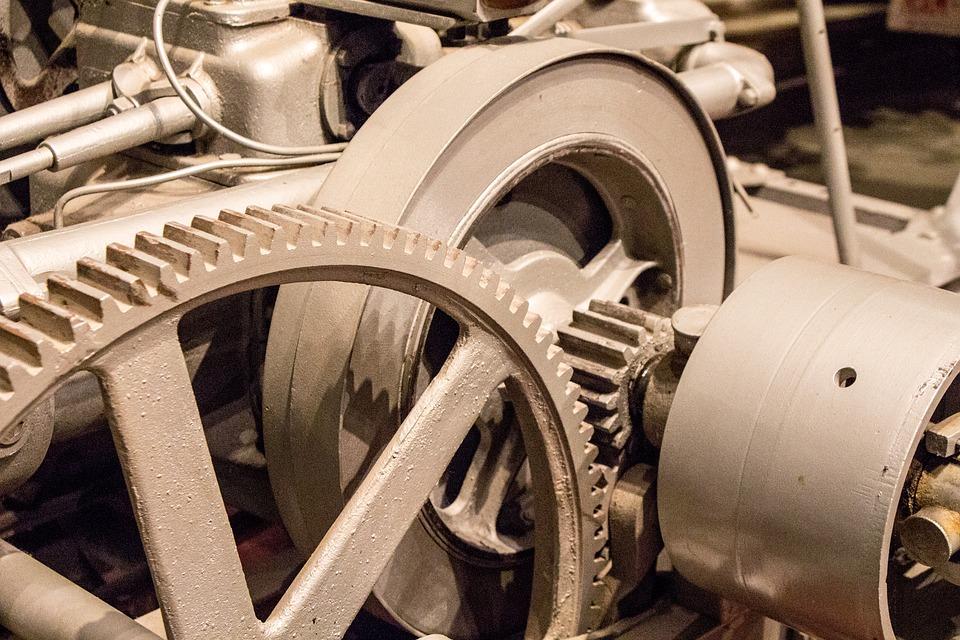 wheels, cogs, machinery